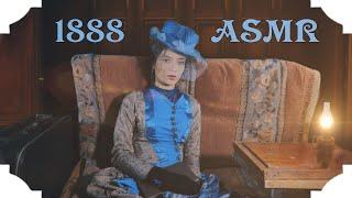 ASMR 19th Century. Reading You To Sleep. Train Atmosphere.