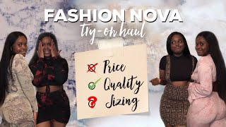 FASHION NOVA Try-On Haul W/ Matching Sets | An Honest Review | Dae Luxe