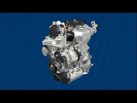 Фото к видео: Volkswagen TSI Engine (1.2 L 105 PS / 77 kW)