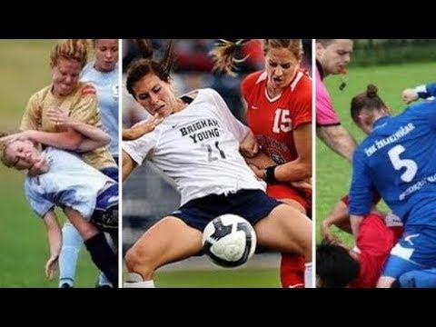 Women Dirty Soccer Fight ● Soccer Girls Getting Red Cards ● HD