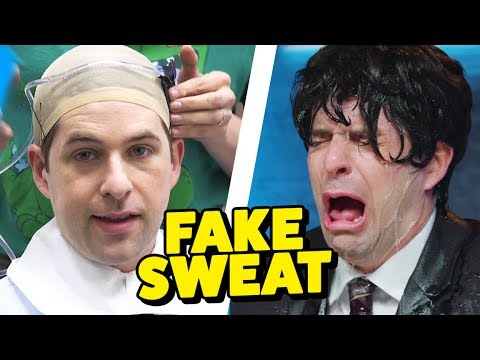 HOW TO MAKE FAKE SWEAT! (This Week in Smosh)