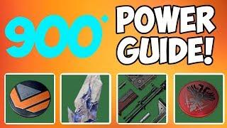 FAST 900 POWER LEVEL GUIDE! HIT THE SOFT CAP! - Destiny 2
