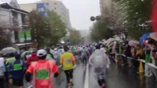 2013長野マラソン 善光寺前 Nagano Marathon Near The Zenkoji-Temple