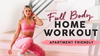 FULL BODY FOLLOW ALONG WORKOUT💦 FAT BLASTING & NO NOISE CIRCUIT