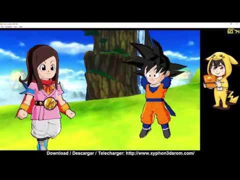 Dragon Ball Fusions (EU)  3DS Decrypted Rom Download + Citra