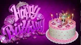 Fairy Princess Cake - HAPPY BIRTHDAY