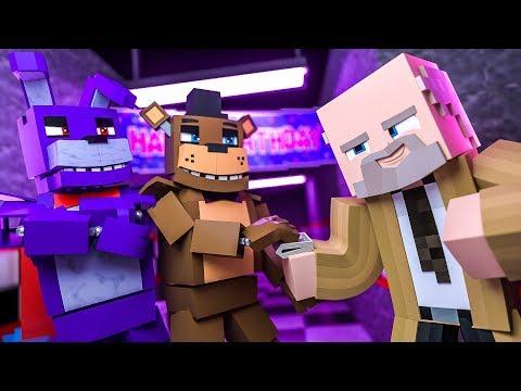 Minecraft FNAF 7 Pizzeria Simulator - BRIBERY! (Minecraft Roleplay)
