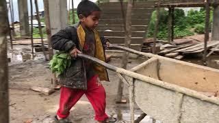 3 ans après le tremblement de terre, une école toujours en chantier