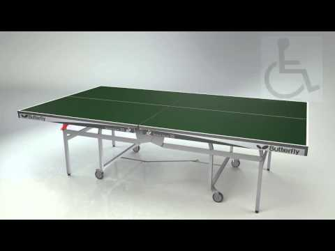 BUTTERFLY Space Saver 25 Table Tennis