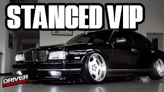 1992 Black VIP Static Y32 Nissan Cima from Driver Motorsports