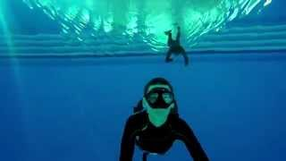 Freediving with my friend (Archive 2015)