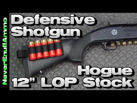 """Defensive Shotgun - Hogue 12"""" LOP Stock vs Magpul SGA"""