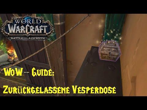 WoW-Guide: Zurückgelassene Vesperdose - Ein unvergessliches Mittagessen