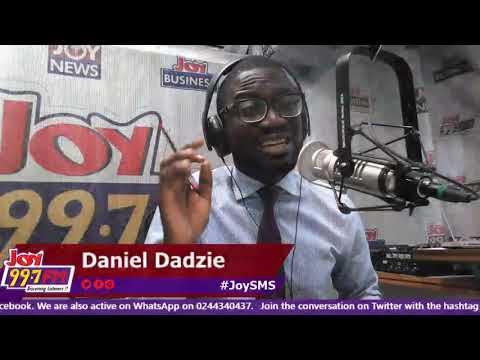 George Andah on #JoySMS - Joy FM (18-9-18)
