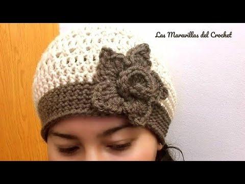 Gorro A Crochet Para Mujer🌹