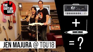 #TGU18 - Theremin + Engl Guitar Amp With Jen Majura