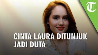 Misi Cinta Laura Ditunjuk Jadi Duta Anti Kekerasan Terhadap Perempuan dan Anak