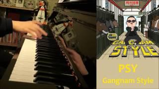PSY   Gangnam Style (강남스타일) (Piano Cover By Amosdoll)
