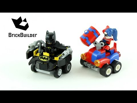 Vidéo LEGO DC Comics Super Heroes 76092 : Mighty Micros : Batman contre Harley Quinn