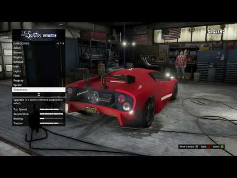 GTA 5 Story Mode Customizing Car