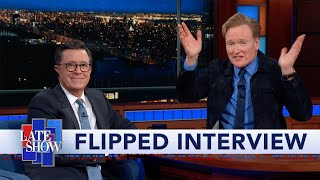 Conan O'Brien Flipped Interview