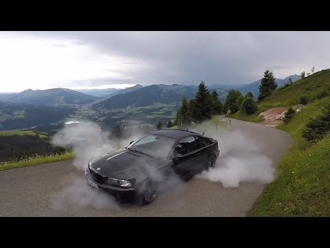 BMW E46 Burnout Compilation