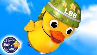 Six Little Ducks   Nursery Rhymes for Babies   Songs For Kids   Little Baby Bum