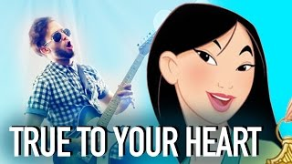 True to Your Heart (Disney's Mulan) // Jonathan Young Cover