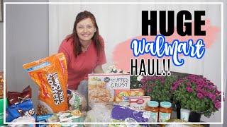 WEEKLY GROCERY HAUL | GROCERY HAUL ON A BUDGET | Huge Walmart Haul | The Welders Wife