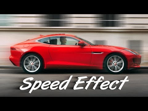 Photoshop: How To Create Awesome Speed Effects In CC 2014 And Later.
