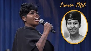 "Fantasia Sings ""Precious Lord Take My Hand"" At Funeral Of Aretha Franklin"