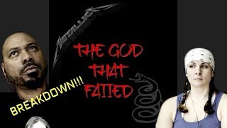 Metallica The God That Failed Reaction!!!