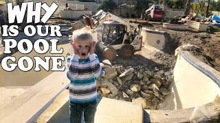 Why Are We Getting Rid of Our Pool? || Mommy Monday
