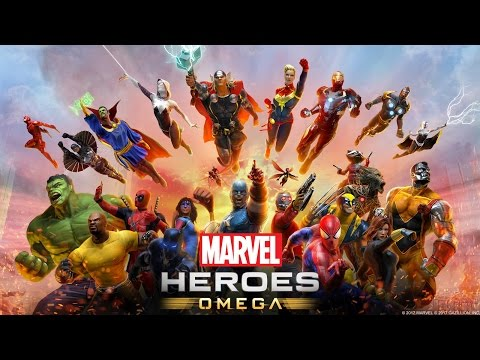 Marvel Heroes Omega Beta Launch Stream on Playstation 4 Pro! (Spider-Man, Nova, Thor Gameplay)