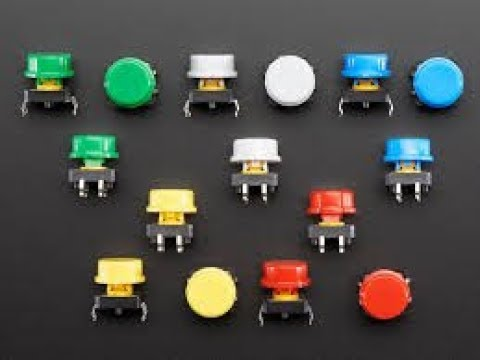 BANGGOOD 20Pcs Red Mini Round 2 Pin SPST ON-OFF Rocker Push Button Switch