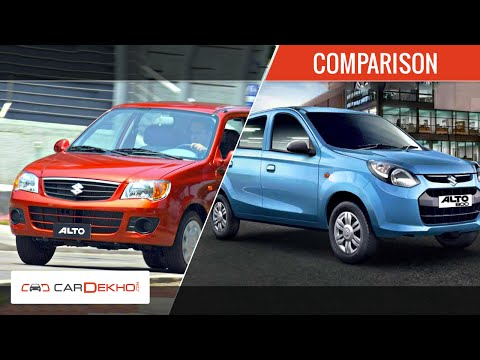 Maruti Alto 800 vs Maruti Alto K10 | Comparison Review | CarDekho.com