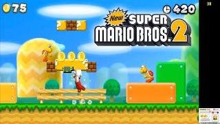 Citra Emulator (CPU JIT) | New Super Mario Bros. 2 [1080p HD] | Nintendo 3DS
