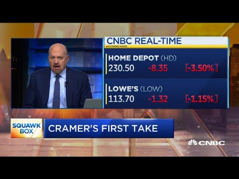 Jim Cramer: Lowe's is getting to be a better buy than Home Depot