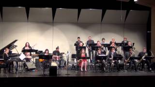 UNI Jazz Panthers - Sinfonian Dimensions in Jazz - February 21, 2015