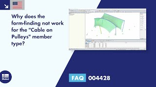 "FAQ 004428 | Why does the form-finding not work for the ""Cable on Pulleys"" member type?"