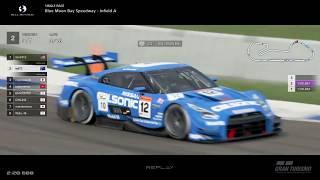 Gran Turismo™SPORT - Blue Moon Bay Infield Nissan GTR Gr2 (online race)