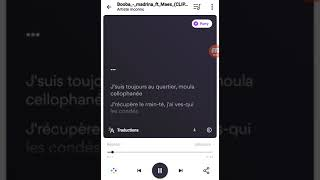 Booba Madrina (ft Maes) Lyrics