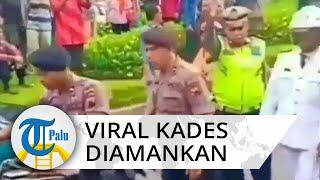 Detik-detik Kades Diamankan saat Pelantikan karena Menggeber Motor di Kantor Magelang