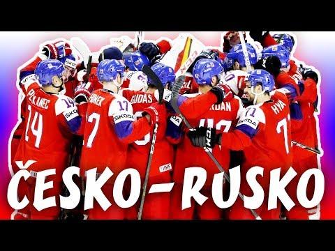 ČESKO - RUSKO | MS v hokeji 2018