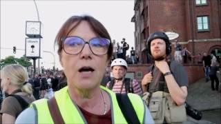 ➡ Welcome to Hell Demo Hamburg 2017‼ G20 Gipfel G20Ham17 ⚠