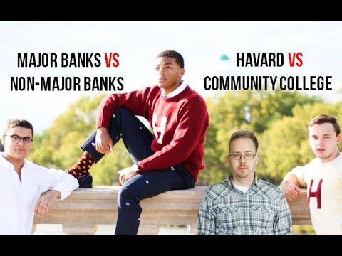 HARVARD VS COMMUNITY COLLEDGE