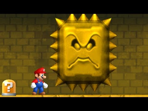 Newer Super Mario Bros Wii Walkthrough - World 2 - Rubble Ruins