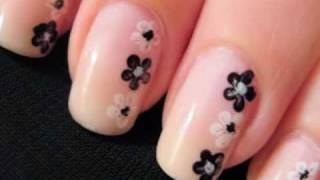 Маникюр и педикюр, Flower Nail Art