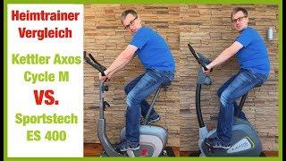 Kettler Axos Cycle  vs. Sportstech ES400 Heimtrainer Vergleich