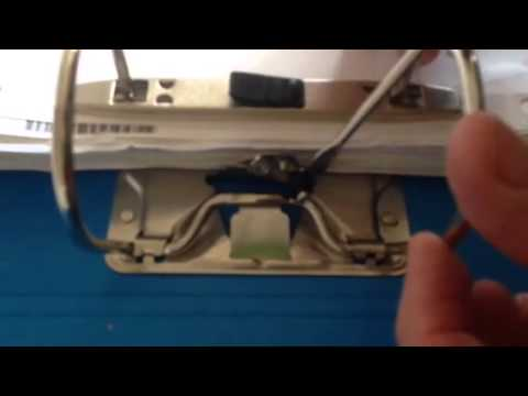 How to fix a lever arch ring folder that won't close any mo